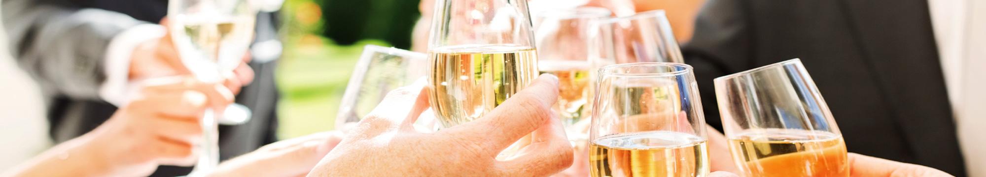 Motiv: Im Hotel feiern: Geburtstage, Hochzeiten, Familienfeiern